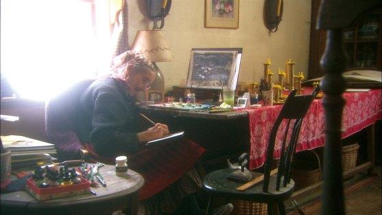 93岁画家塔莎