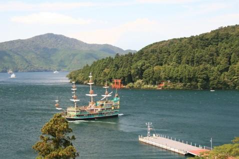 箱根蘆之湖海盜船IMG_1492